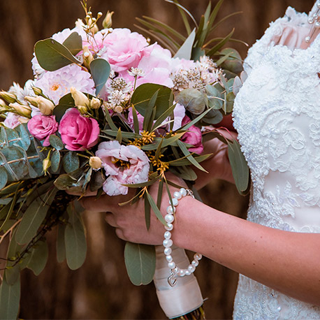 Ramos de flores para novia