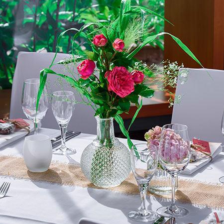 Floristería con servicio de mantenimiento de plantas y reposicion de flores en Madrid.