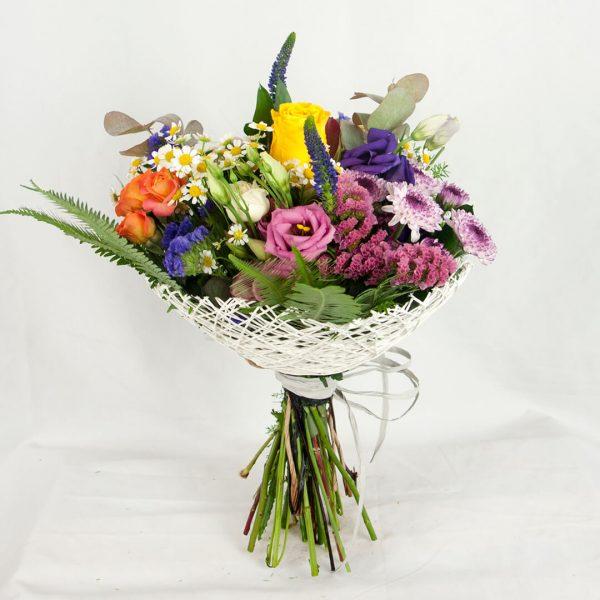 Ramo de flores alegría a domicilio en Madrid